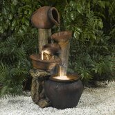 Pentole Pot Outdoor/Indoor Fountain with Illumination