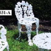 White Garden Dining Side Chair