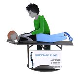 Desk Accessory Chiropractor Female Business Card Holder
