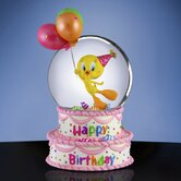 Happy Birthday Tweety Water Globe