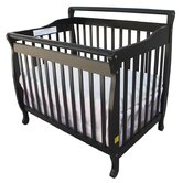 3-in-1 Portable Convertible Crib