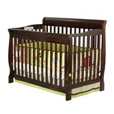 Ashton 4 in 1 Convertible Crib in Espresso