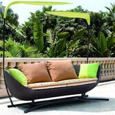 Bask Outdoor Patio Sun Bed with Cushions