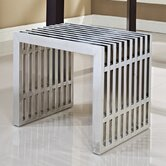 Small Gridiron Metal Bench