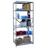 Hi-Tech Shelving  Heavy-Duty Open Type Starter and Optional Add-on Unit with 6 Shelves