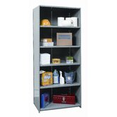 Hi-Tech Shelving Heavy-Duty Closed Type Starter and Optional Add-on Unit with 6 Shelves