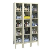 Safety-View Plus Locker 5 Tier 3 Wide (Assembled)