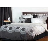 Round-About 100% cotton 3 piece queen duvet cover set