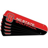"NCAA TeamFanz 5-Blade Set for a 52"" Ceiling Fan (blades only)"
