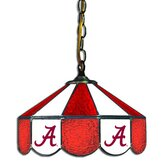 NCAA 14&quot; Stained Glass Swag Lamp
