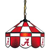 NCAA 14&quot; Executive Style Stained Glass Swag Lamp