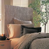 Grass Weave Panel Headboard