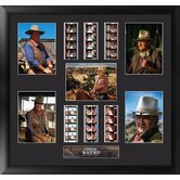 John Wayne Montage FilmCell Presentation Picture Frame