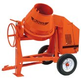 C6-CGR6 - 6 cu ft Concrete Mixer - 6 HP Robin w/ Options