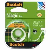 "Magic Office Tape with Refillable Dispenser, 3/4"" x 8 Yards, Clear"