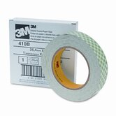 "Double-Coated Tissue Tape, 1"" x 36 Yards, 3"" Core"