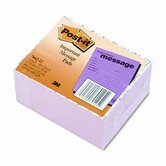 Post-It Super Sticky Super Sticky Message Pad, 12 50-Sheets Pads/Pack