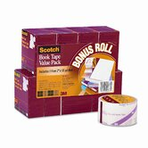 "Book Repair Tape 8-Roll Multi-Pack, 15-Yard Rolls, 3"" Core"