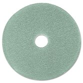 Burnish Pad, 19&quot;, Aqua, 5 Pads/Carton