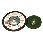 "Green Corps� Flexible Grinding Wheels (Quick Change) - 3m green corp flexible grinding wheel 7""x1/8"""