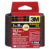 "2 Pack 3"" X 18"" Fine Grit Power Sanding Belts 9260"
