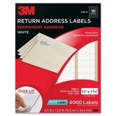 Address Label for Laser Printer (6000 Per Pack)