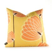 Aequorea Lotus Pillow in Sunflower and Sunshine