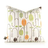 Aequorea Carnival Pillow in White and Sunshine