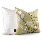 Ailanthus Throw Pillow in Grass / Sky