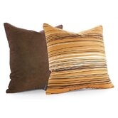 Rain Throw Pillow in Sunshine