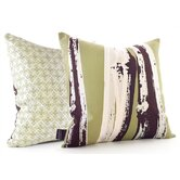 Bamboo Throw Pillow in Grass