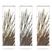 Thatch Slat Hanging Panel Collection