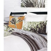 Estrella Damask Woven Bedding Collection in Pure White