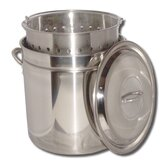 Boiling Steamer Pot and Punched Basket