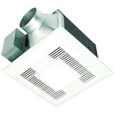 WhisperLite 110 CFM Energy Star Bathroom Fan with Overhead Light