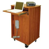 8 Unit Laptop Presentation Cart