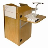 Counsel Media Lectern with Wireless Sound