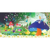 Personalized Canvas Fairy Girl Wall Mural