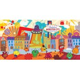 Personalized Canvas Monster Boy Wall Mural