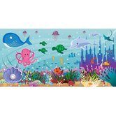 Personalized Canvas Ocean Girl Wall Mural