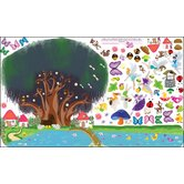 Peel and Play Fairy Garden Wall Play Set
