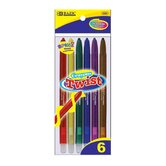 6 Color Propelling Crayon Set