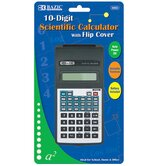10-Digit Scientific Calculator with Flip Cover (Set of 48)