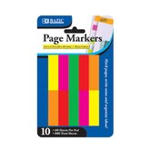 "0.5"" X 1.75"" Neon Page Marker (Set of 10)"