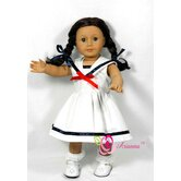 Sailor's Sweetheart Doll Dress