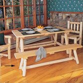 Wooden Straight Kitchen Bench