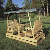 Rustic Natural Cedar Furniture Seating Groups