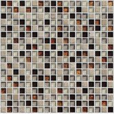"Crystone CS008"" 12"" x 12"" Stone and Glass Mosaic"