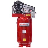 Professional Series Two Stage 5 HP Single Phase 80 Gallon Vertical Compressor