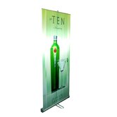35&quot; - 70&quot; Vertical Adjustable Double-Sided Banner Stand